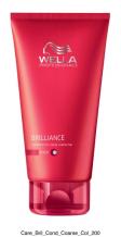 Wella  Professional Care Brilliance Conditioner Coarse 200ml Kondicionér pro silné barvené vlasy