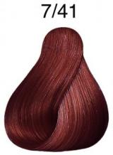 Wella Koleston Perfect barva 7/41 středně blond měděná popelavá 60ml