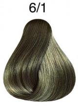 Wella Koleston Perfect barva 6/1 tmavá blond popelavá 60ml