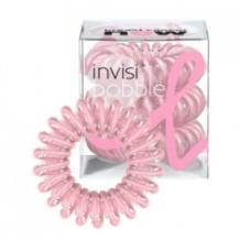Invisibobble gumička do vlasů Pink Power růžová průhledná 3 ks