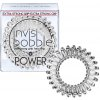 Invisibobble Power Crystal Clear, 3 kusy power vlasové gumičky průhledné