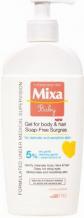 Mixa Baby Gel for Body & Hair sprchový gel 400 ml