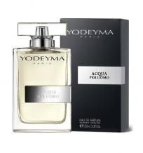 Yodeyma Paris ACQUA PER UOMO Eau de Parfum 100ml.