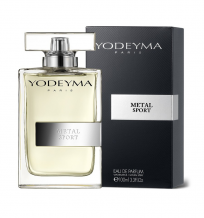 Yodeyma Paris METAL SPORT Eau de Parfum 100ml.