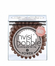 Invisibobble Power Pretzel Brown gumičky hnědé 3 ks
