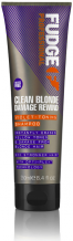 Fudge Clean Blonde Violet Toning Shampoo 250 ml